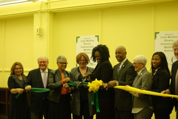 Luis Rivera Community School Ribbon Cutting