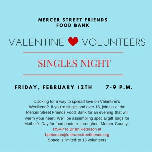 Single Volunteers Valentine Party