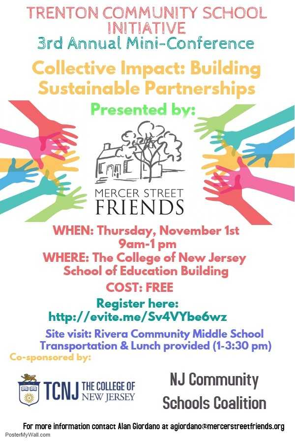 MSF Announces 3rd Annual Trenton Community Schools Mini-Conference
