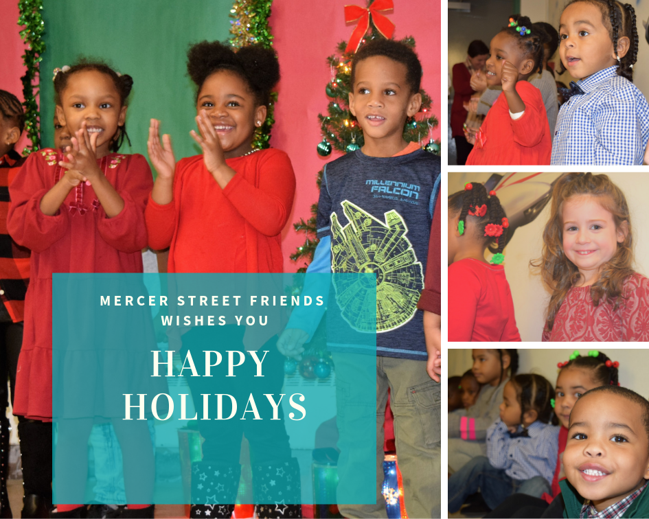 Holiday Greetings from Mercer Street Friends